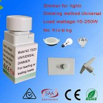 10-250W Rotary LED Dimmer