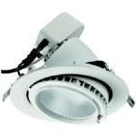 38W Round Adjustable LED Shop Light