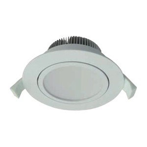 13W Dimmable COB LED Downlight Adjustable Head with SAA and C-Tick